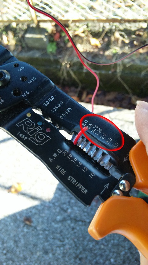 エレクトロタップの使い方(細線タントオヤジ流)